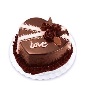 爱之深,情之切--巧克力蛋糕