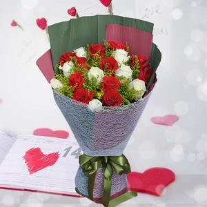 遇见-相恋 33朵玫瑰